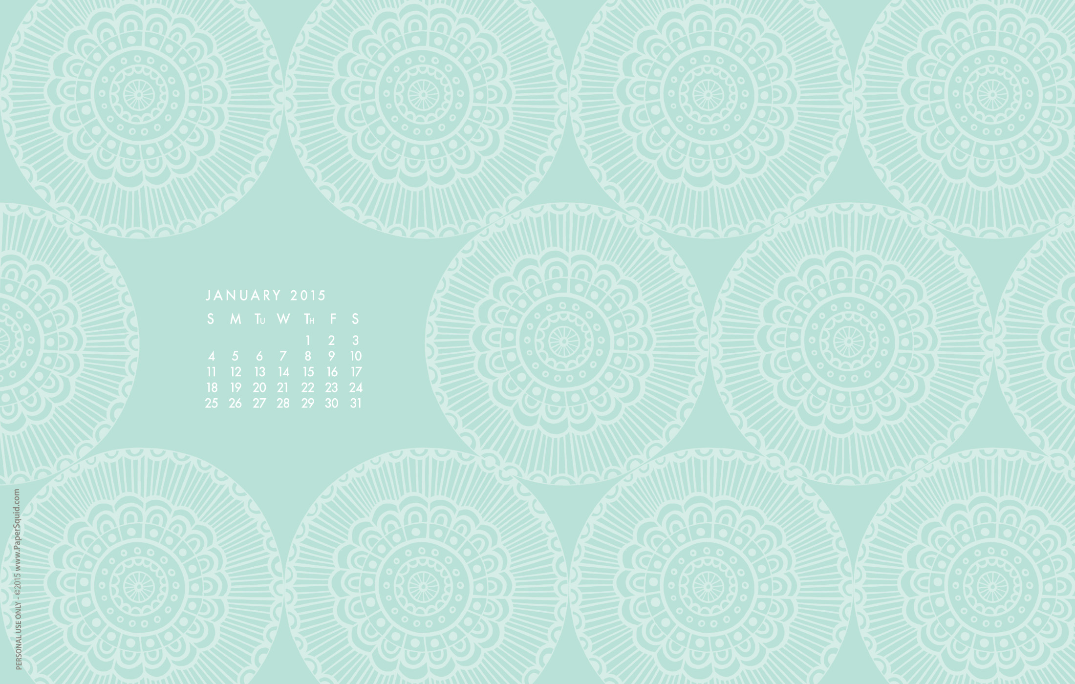 paper squid happy 2015 a new year desktop wallpaper