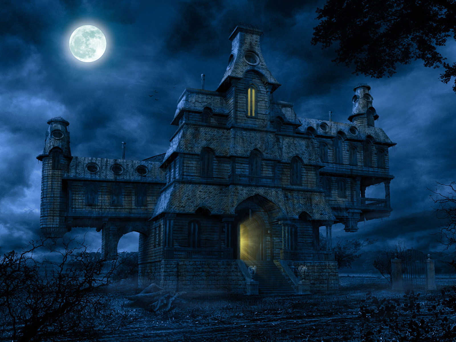 Horror House WallpapersImage to Wallpaper 1600x1200