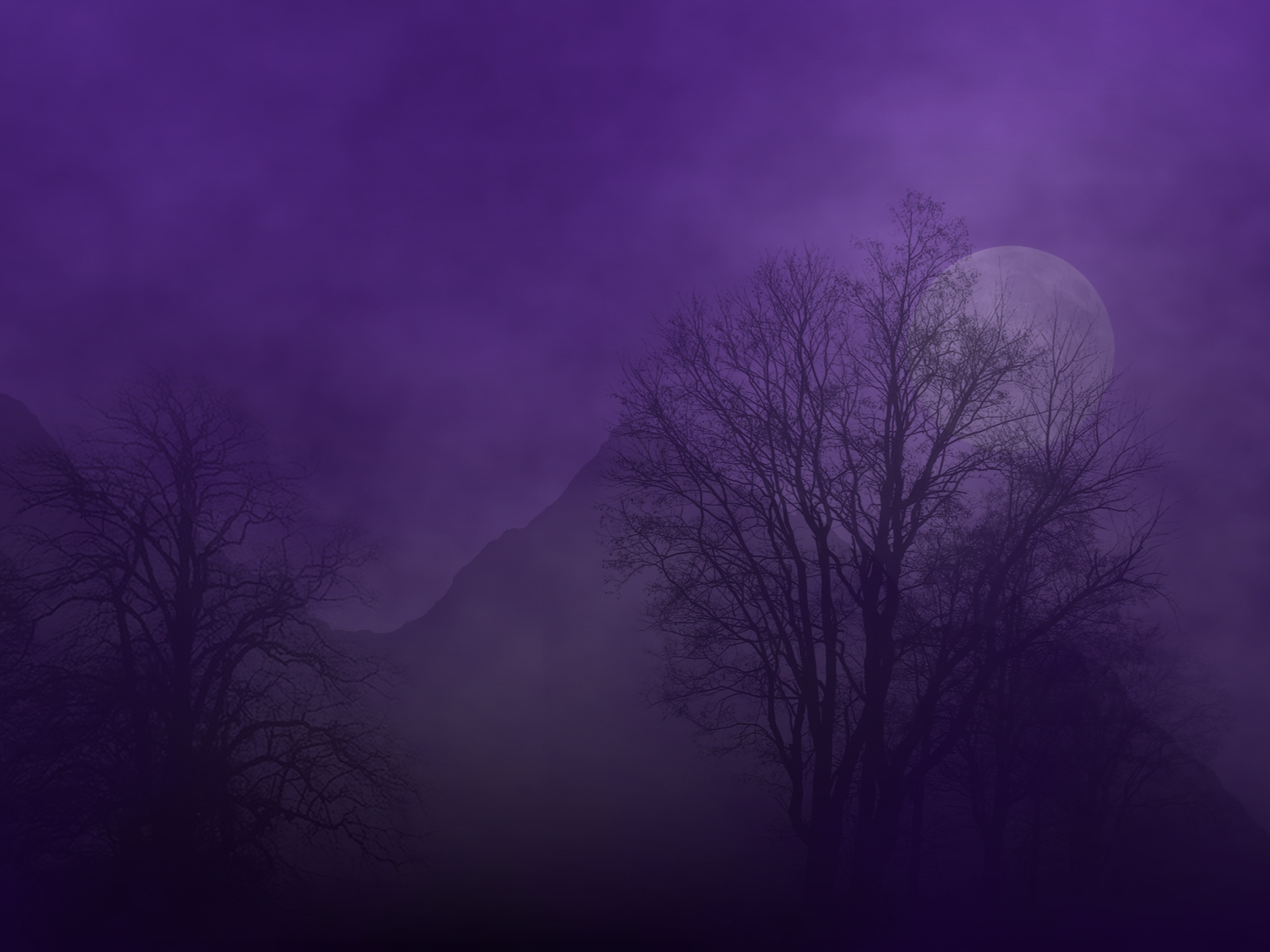 Purple haze background wallpapersafari - Purple moon wallpaper ...