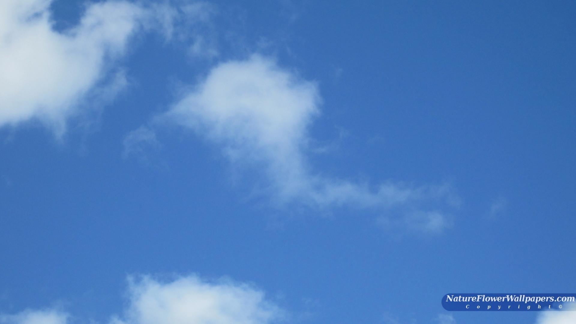 Blue sky wallpaper 1920x1080 resolution 1920x1080