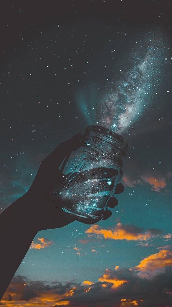36 Wallpaper Galaxy Aesthetic On Wallpapersafari