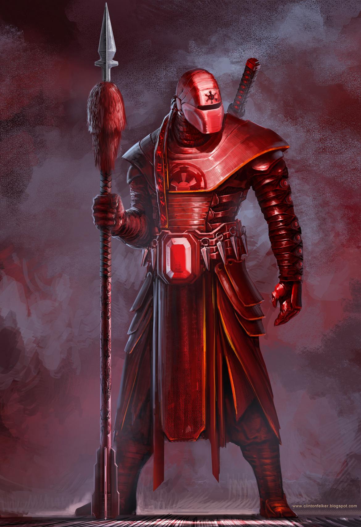 Samurai Imperial Guard Concept by cgfelker 1170x1710