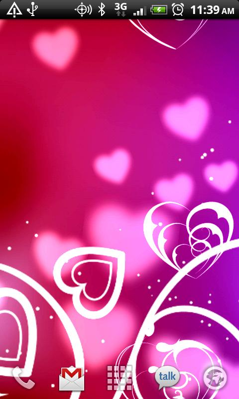 KF Hearts Live Wallpaper   Android Apps on Google Play 480x800