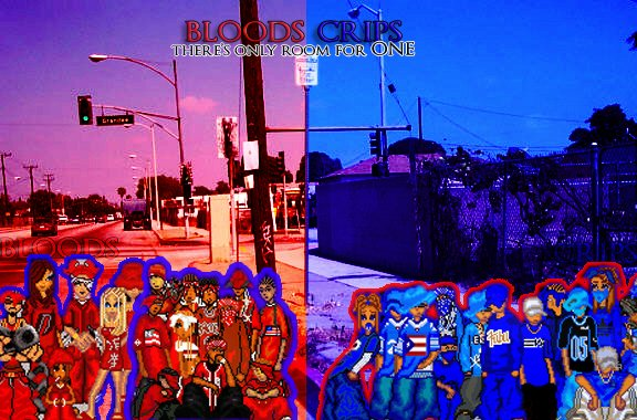 Bloods vs Crips by kmcpaladin 576x380