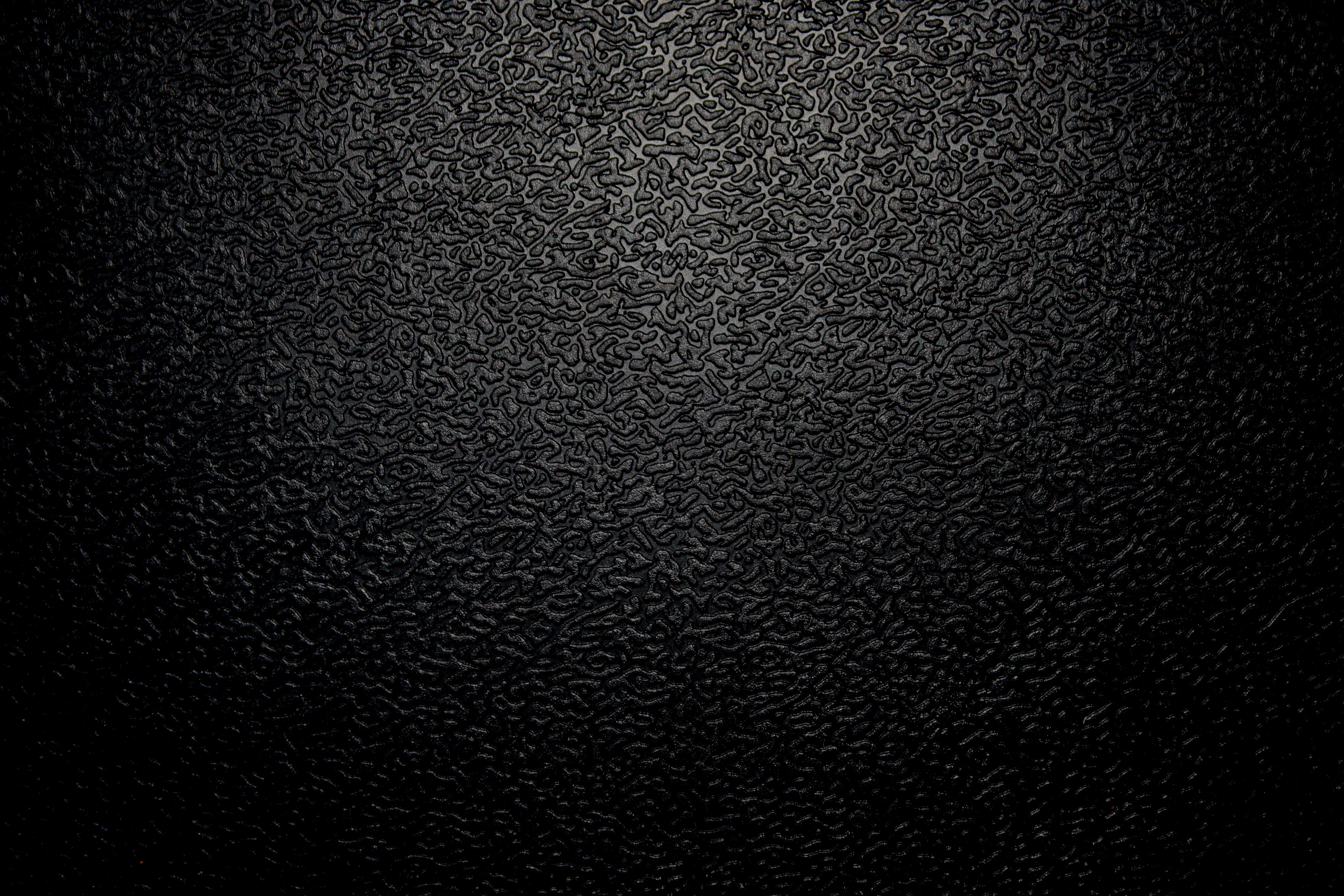 Textured Black Plastic Close 3888x2592