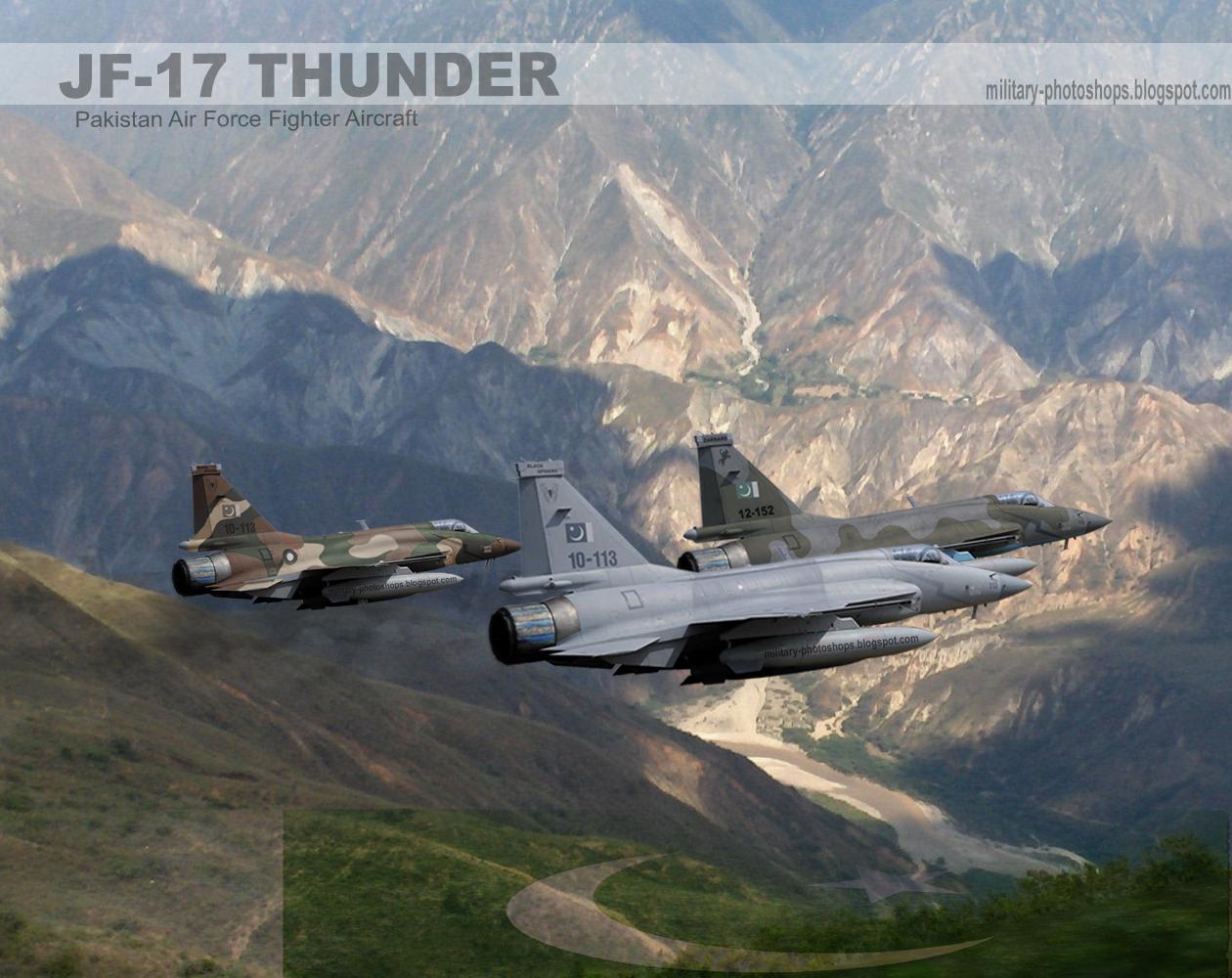 Photoshops Pakistan Air Force JF 17 Thunder Wallpaper [HD] [1024x768 1260x1000