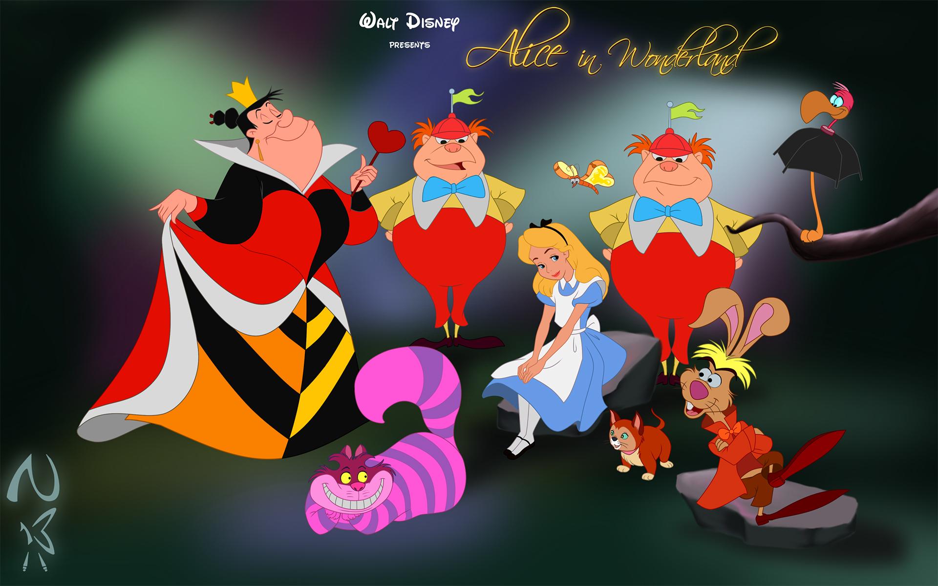 Free Download Cartoon Alice In Wonderland Wallpaper Hd Walls Find