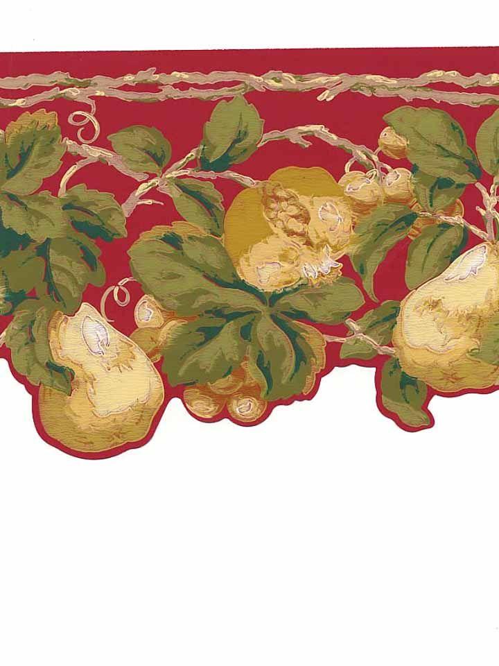Fruit Kitchen Wallpaper Borders BA unit 3 Pinterest 720x960