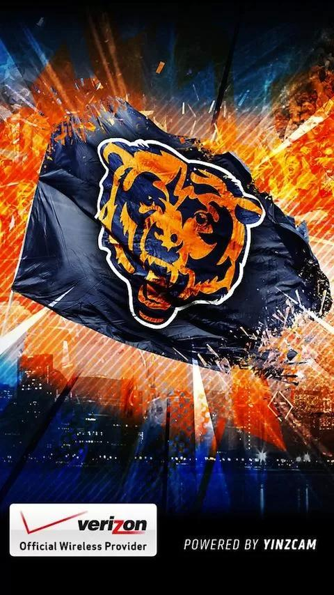 Chicago Bears Official App android live wallpaper 480x854