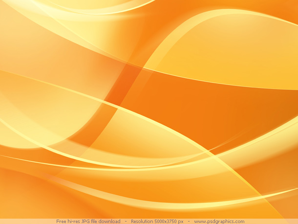 Abstract orange backgrounds PSDGraphics 610x458