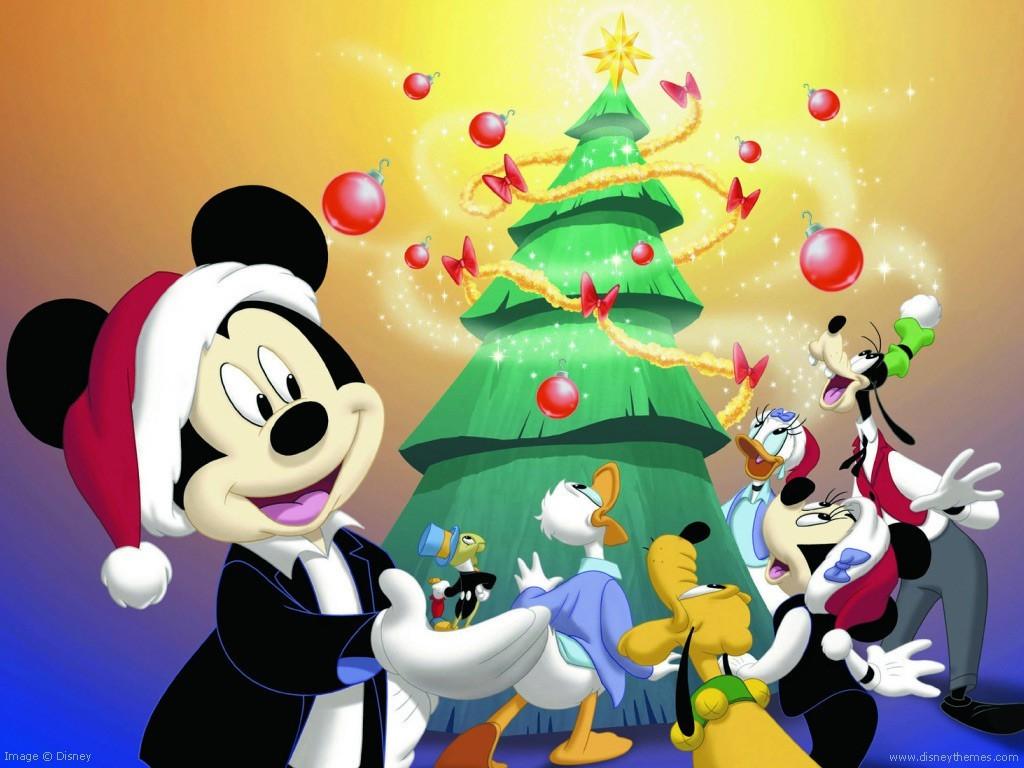 Disney Merry Christmas Cartoon Wallpapers Christian Wallpapers 1024x768