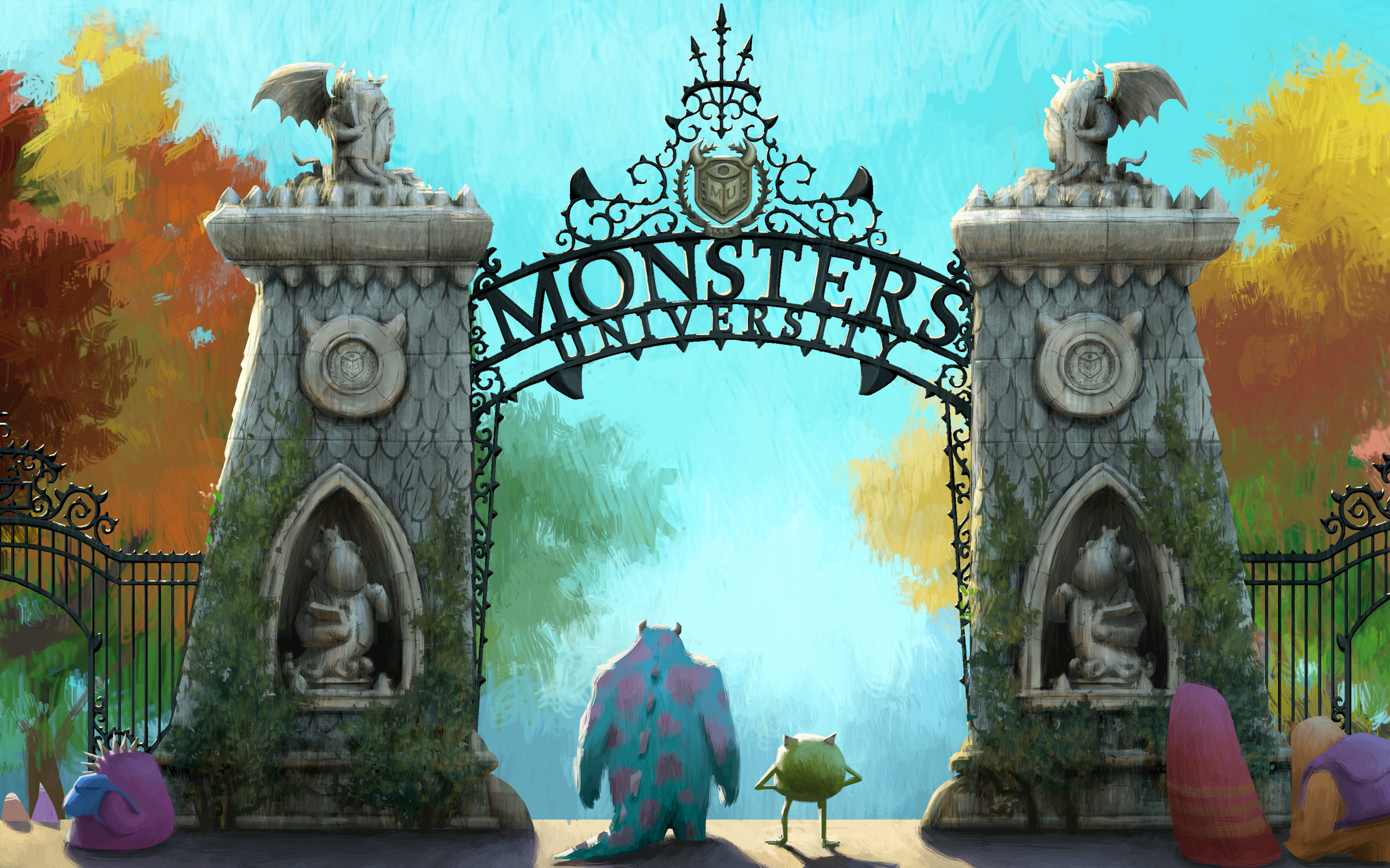 Monsters University Wallpapers HD Wallpapers 2560x1600