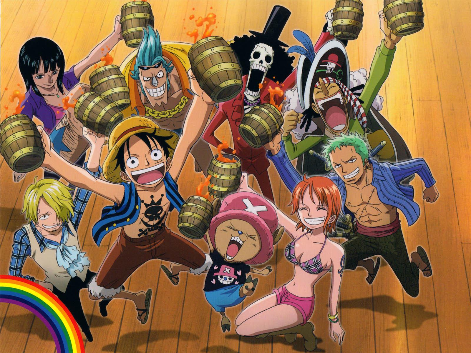 One Piece New World Crew Wallpaper