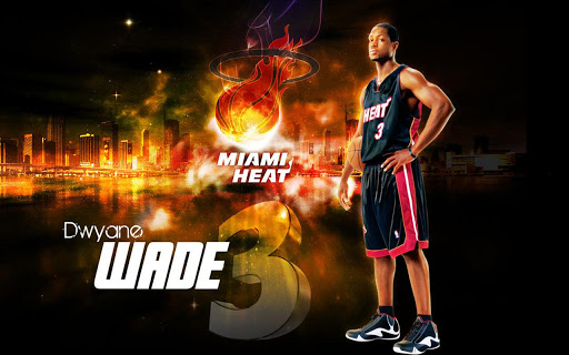 Miami Heat NBA HD Wallpapers   Android Apps Games on Brothersoftcom 512x320
