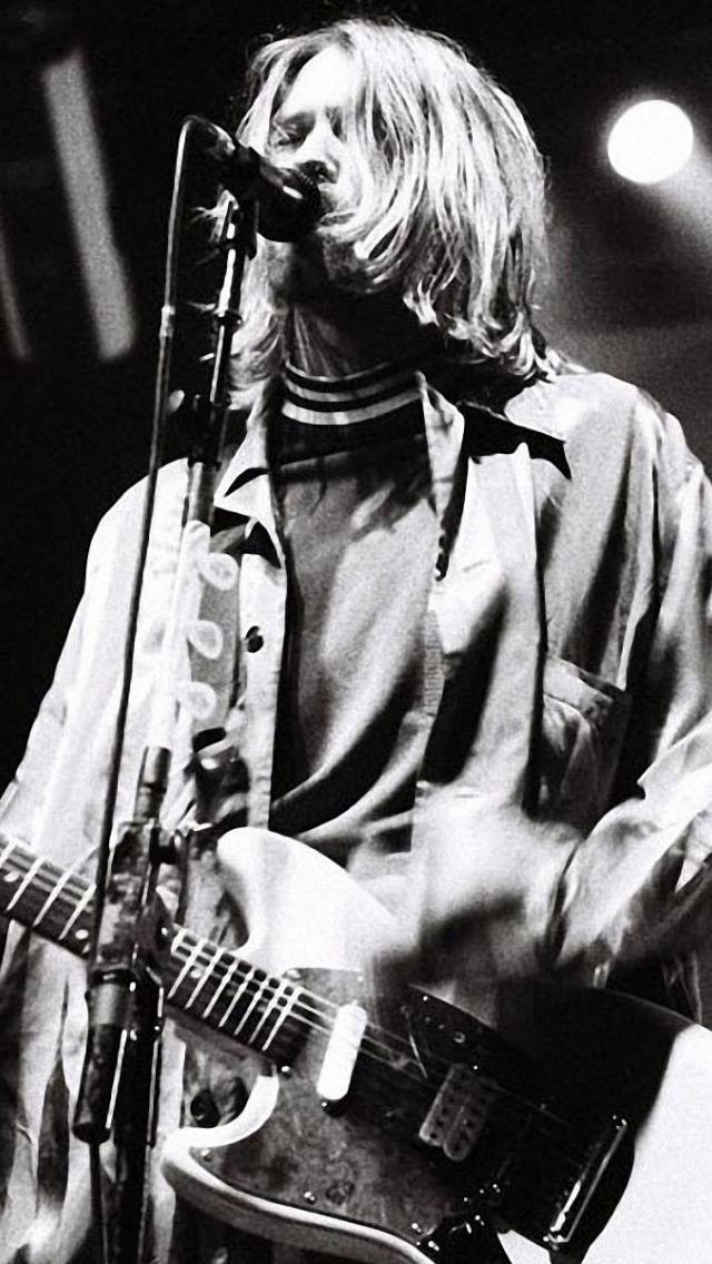 download Kurt Cobain Wallpapers Photos Kurt Cobain Wallpaper 640x1136
