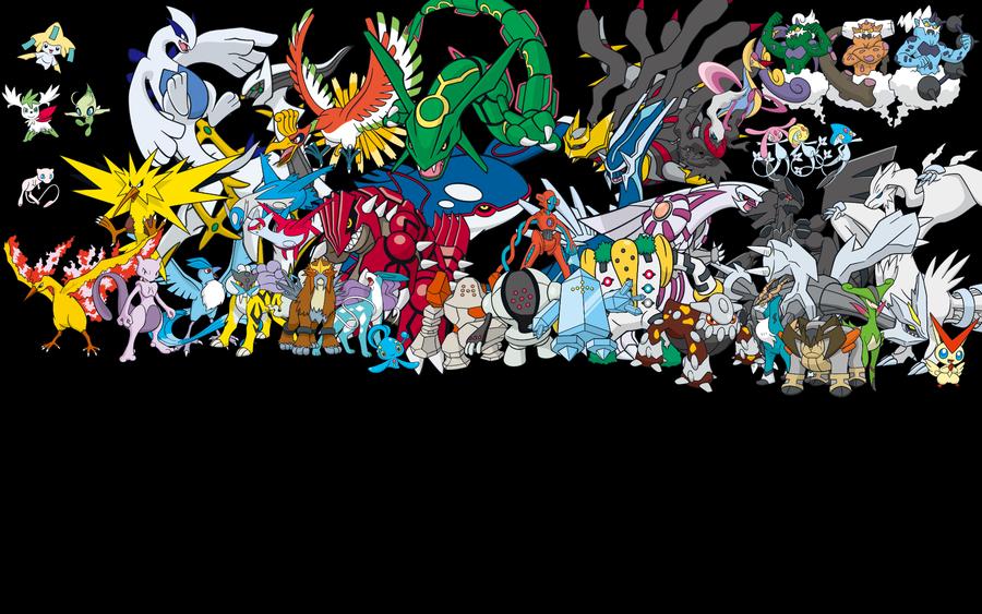 Legendary Pokemon Background All Legendary Pokemon ...