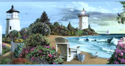 lighthouse wallpaper border 2015   Grasscloth Wallpaper 525x279