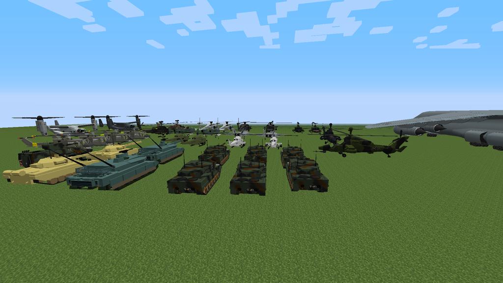 Моды на танки для майнкрафт 1.7.2