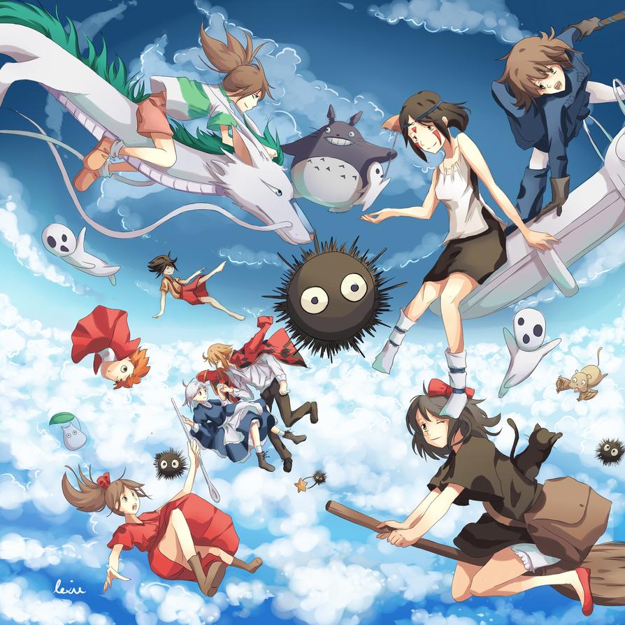 Ghibli by Rejuvenesce 894x894