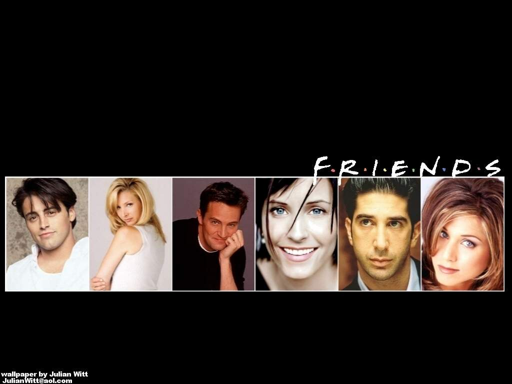 Free download Friends Tv Show Wallpapers black for Android