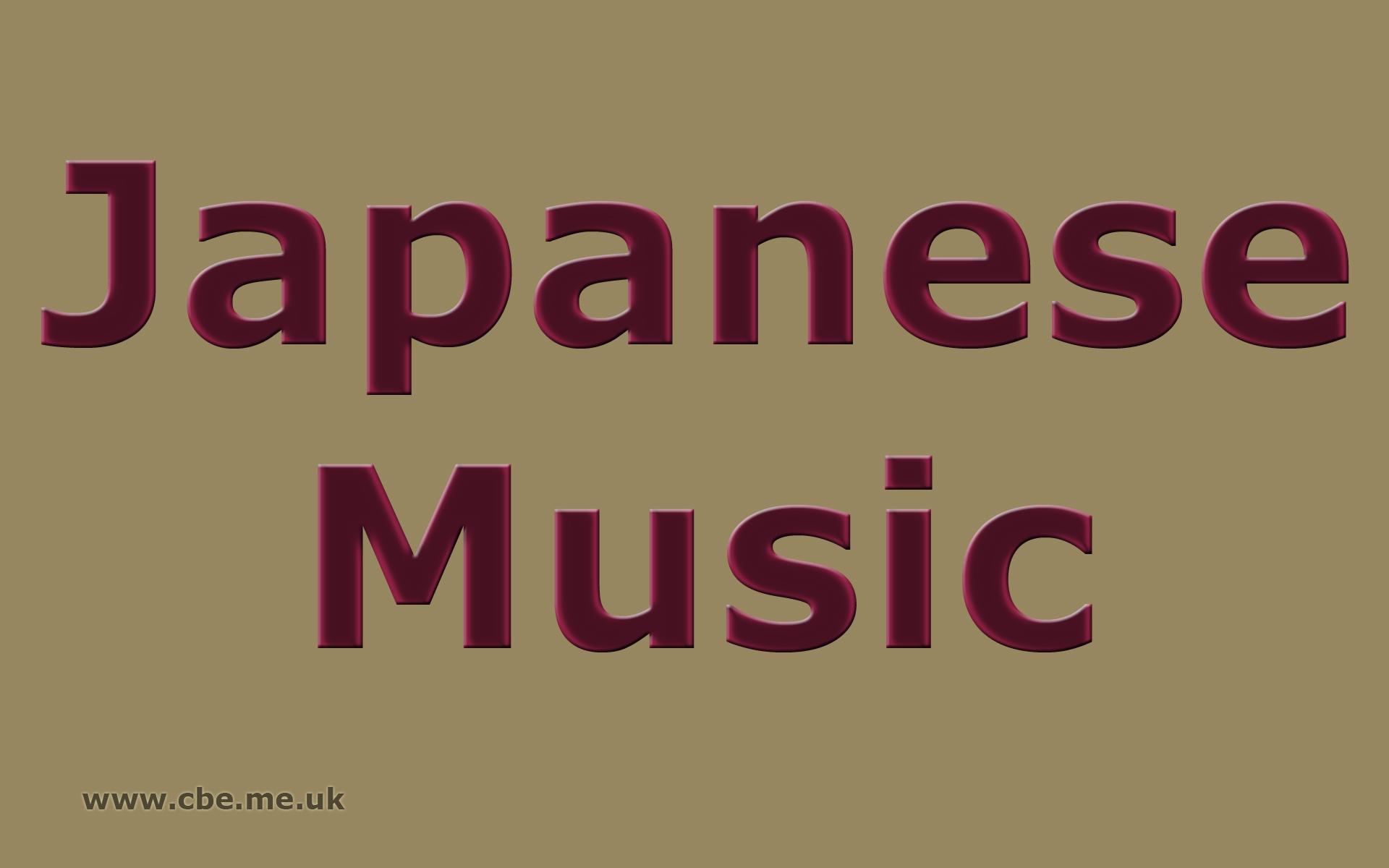 Japanese Music 1920x1200