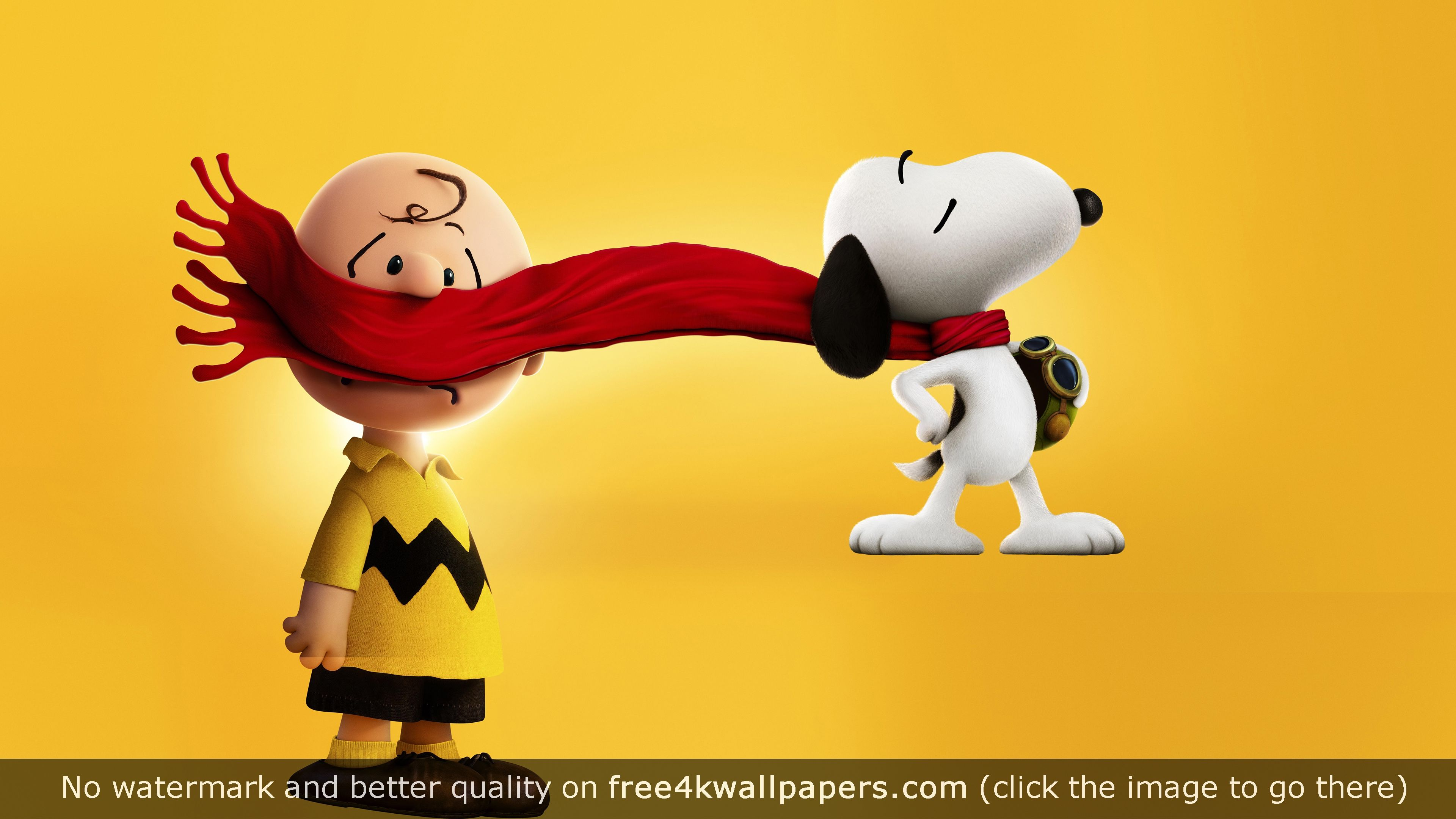 Best snoopy wallpapers for your PC Mac or Mobile Device 3840x2160