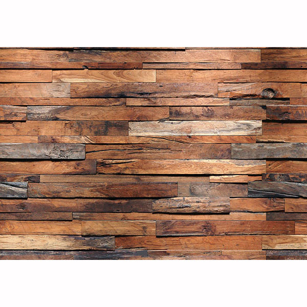 Reclaimed Wood Wall Mural   Ideal Dcor Murals 600x600