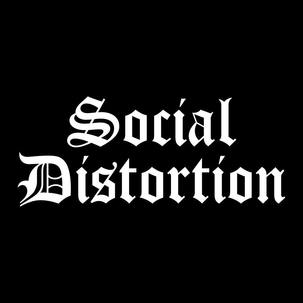Social Distortion Logo Wallpaper Social distortion 1000x1000