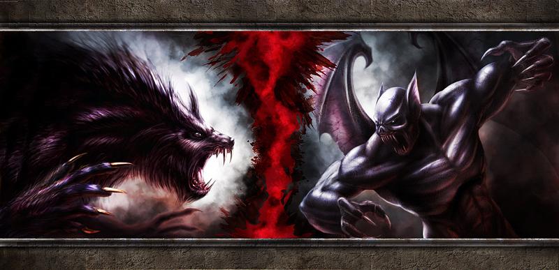 [49+] Vampire vs Werewolf Wallpaper on WallpaperSafari