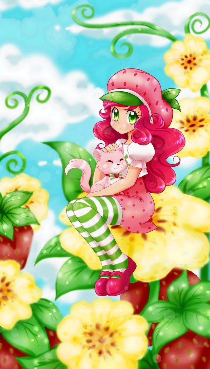 Strawberry Shortcake by chikorita85 675x1182