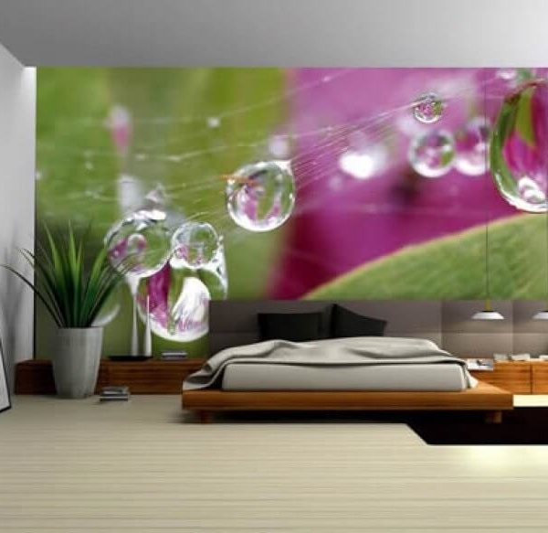 bedroom wallpaper design Best 10 Home Decor Wallpaper Designs 2015 600x583