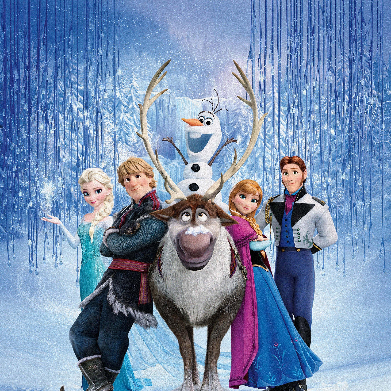 FREEIOS7 frozen family 2   parallax HD iPhone iPad wallpaper 2448x2448