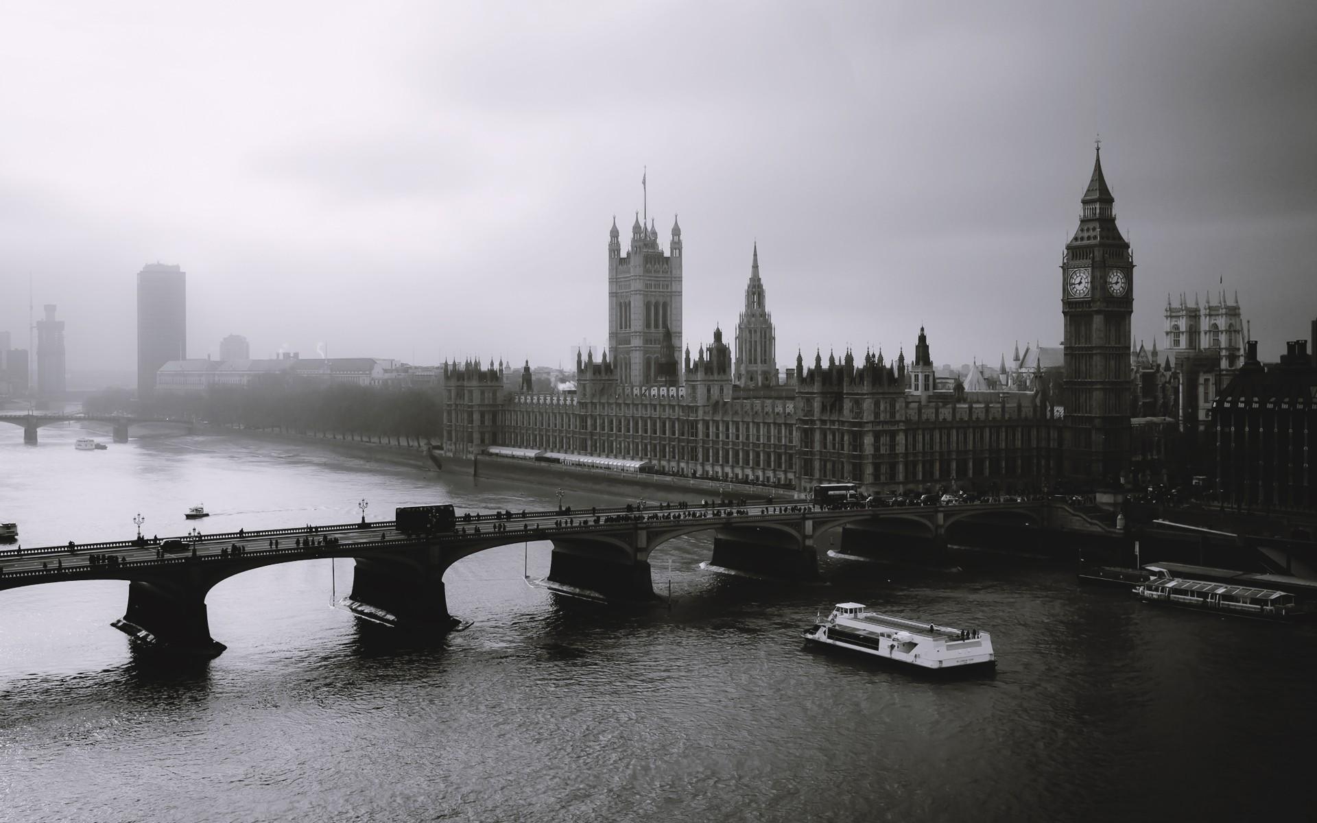 Cityscapes London Wallpaper 1920x1200 Cityscapes London Black White 1920x1200