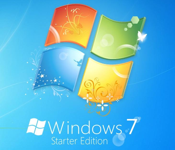 httpwwwwallpapergangcomWindows 7yellow Win 7 Starter 6564html 731x625