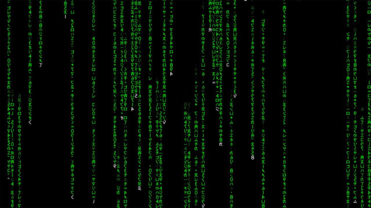 matrix code wallpaper for desktop and mobile devices matrix code 1280x720