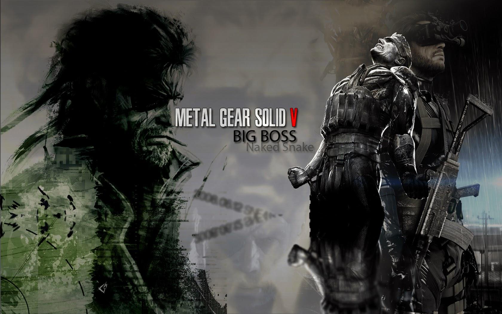 Free Download Solid V 5 The Phantom Pain Big Boss Naked Snake