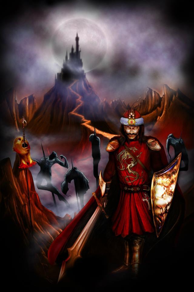 Vlad The Impaler Art