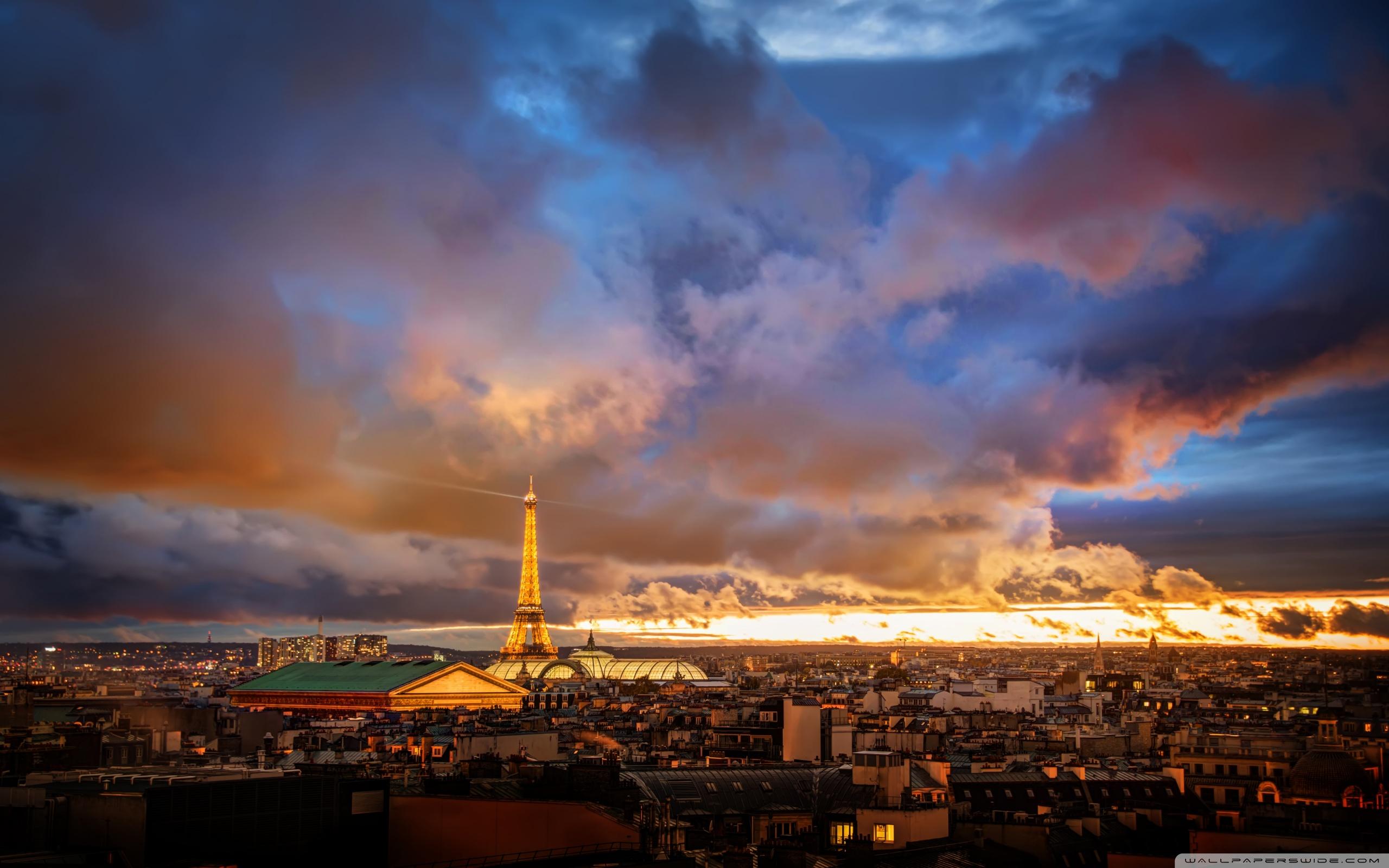 Free Download Romantic Night In Paris 4k Hd Desktop Wallpaper For 4k Ultra Hd 2560x1600 For Your Desktop Mobile Tablet Explore 25 Paris Night Wallpaper Paris Night Wallpaper Paris