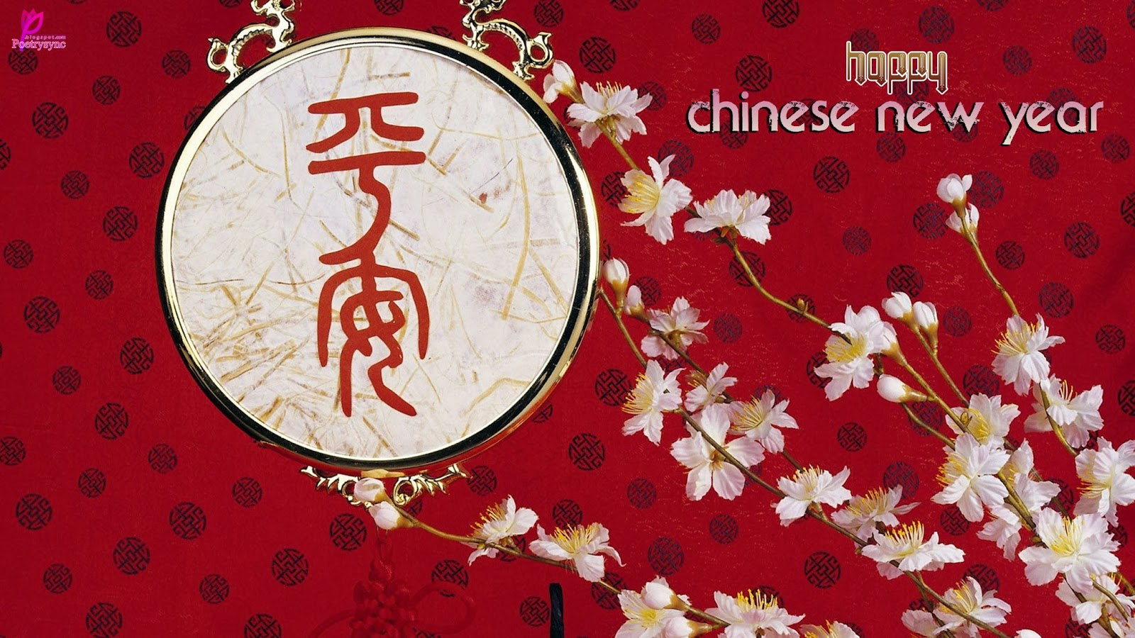Happy Chinese New Year Happy Lunar New Year 2014 Wishes and Greetings 1600x900