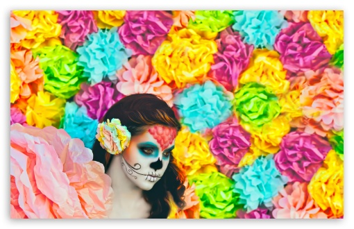 Sugar Skulls HD wallpaper for Standard 43 54 Fullscreen UXGA XGA 510x330