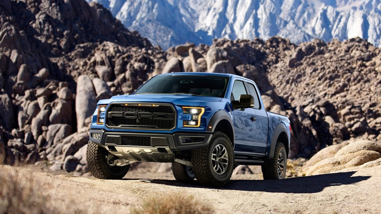 Ford F150 Raptor 2017 Wallpaper HD Car Wallpapers 1280x720