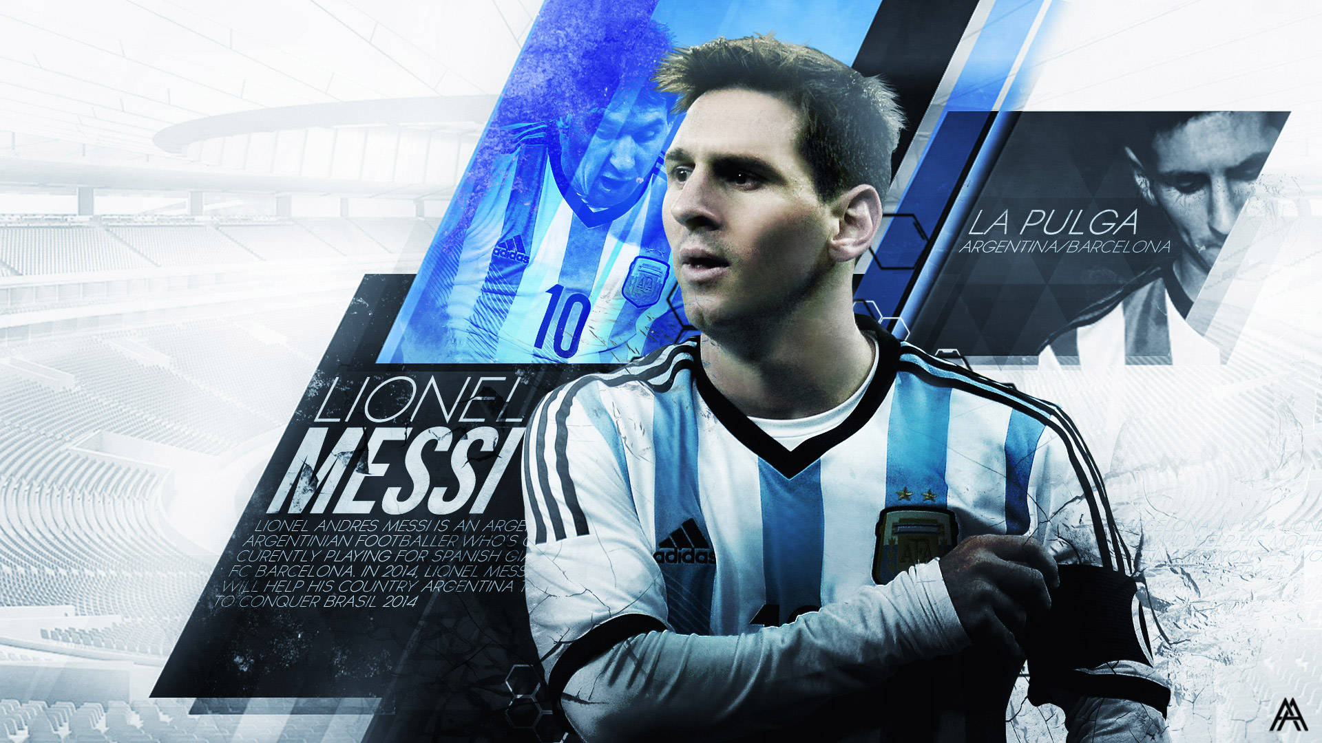 Messi Desktop Background Download 1920x1080