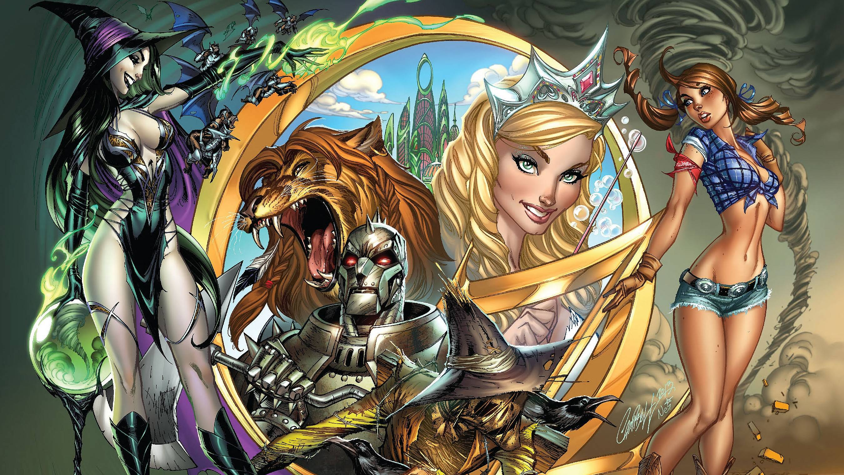 Grimm Fairy Tales Wallpapers 2700x1519