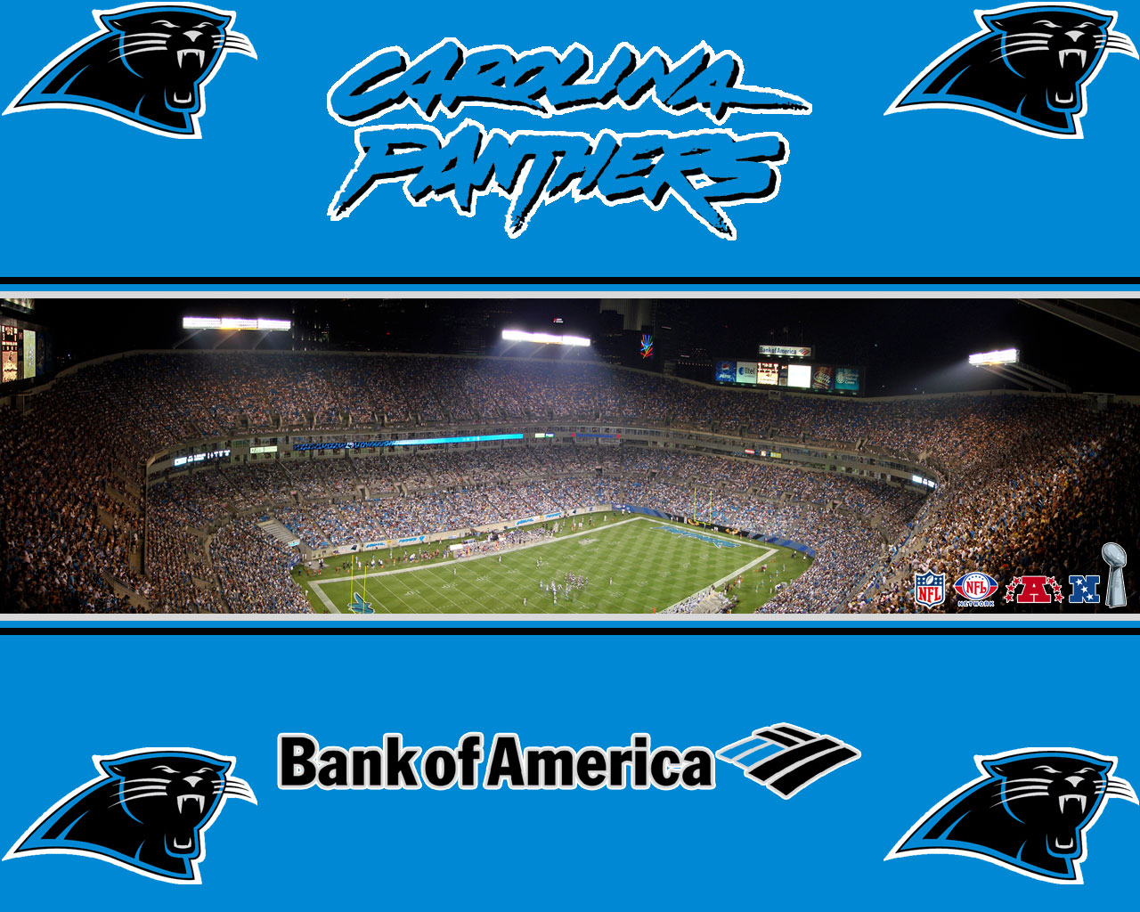 Carolina Panthers Wallpaper Carolina Panthers Wallpaper 1280x1024