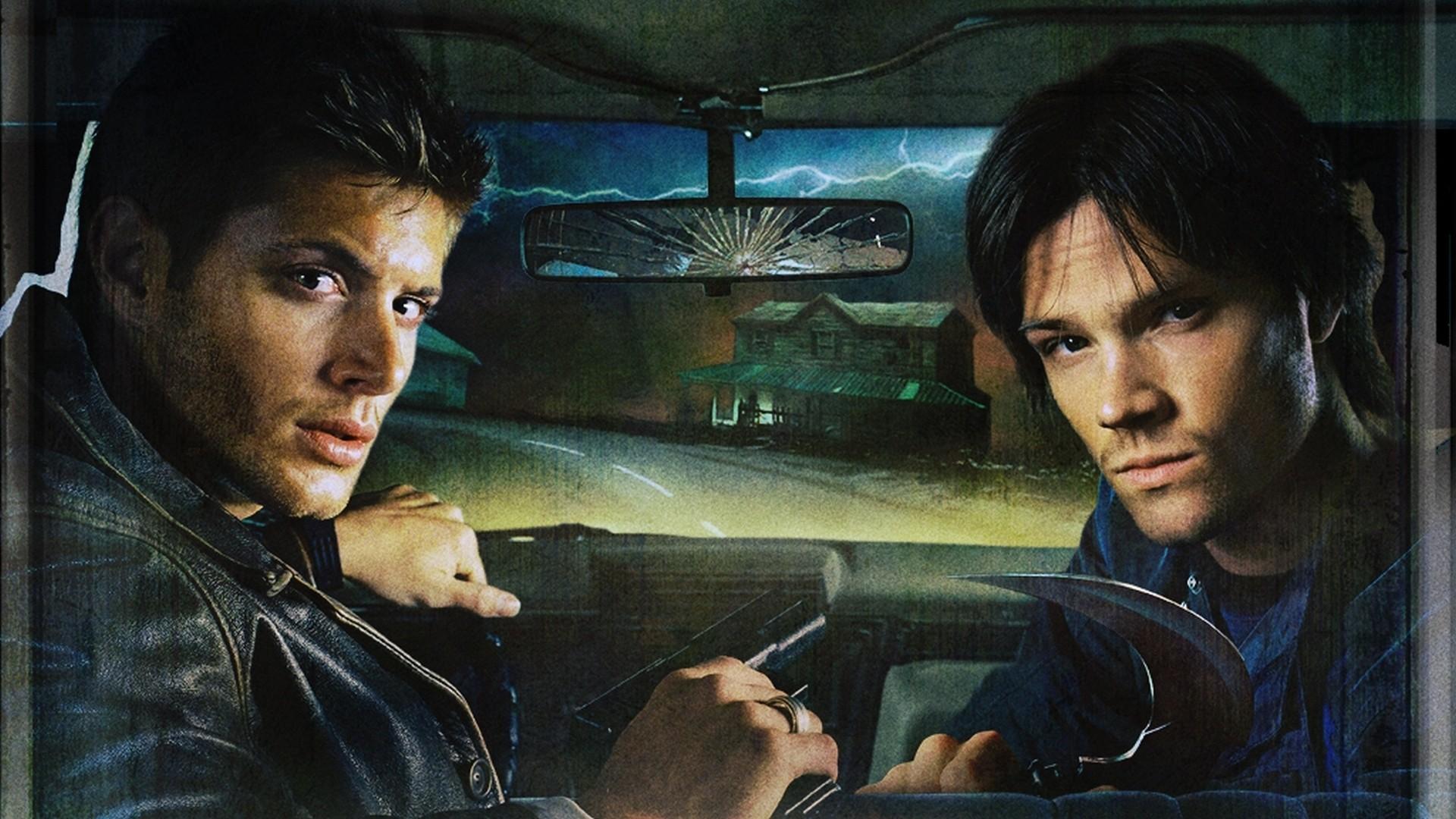 Jared Padalecki cottage Supernatural TV series wallpaper background 1920x1080