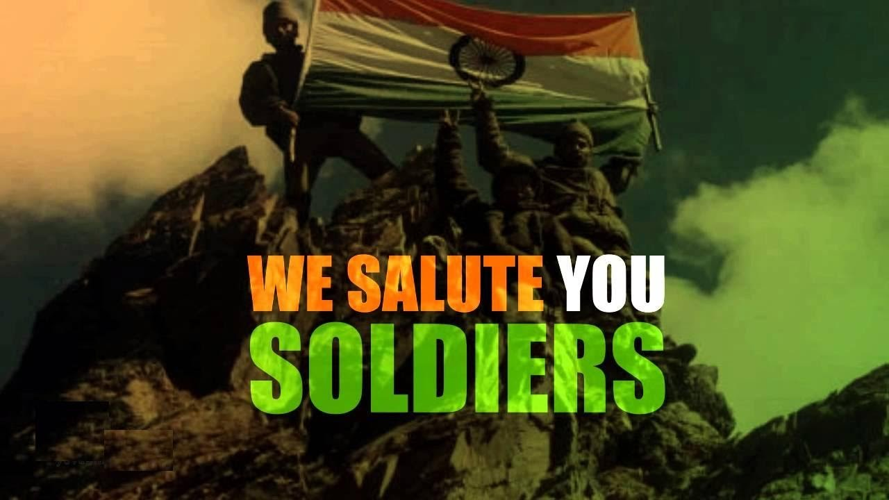 14] Army Salute Wallpapers on WallpaperSafari 1280x720