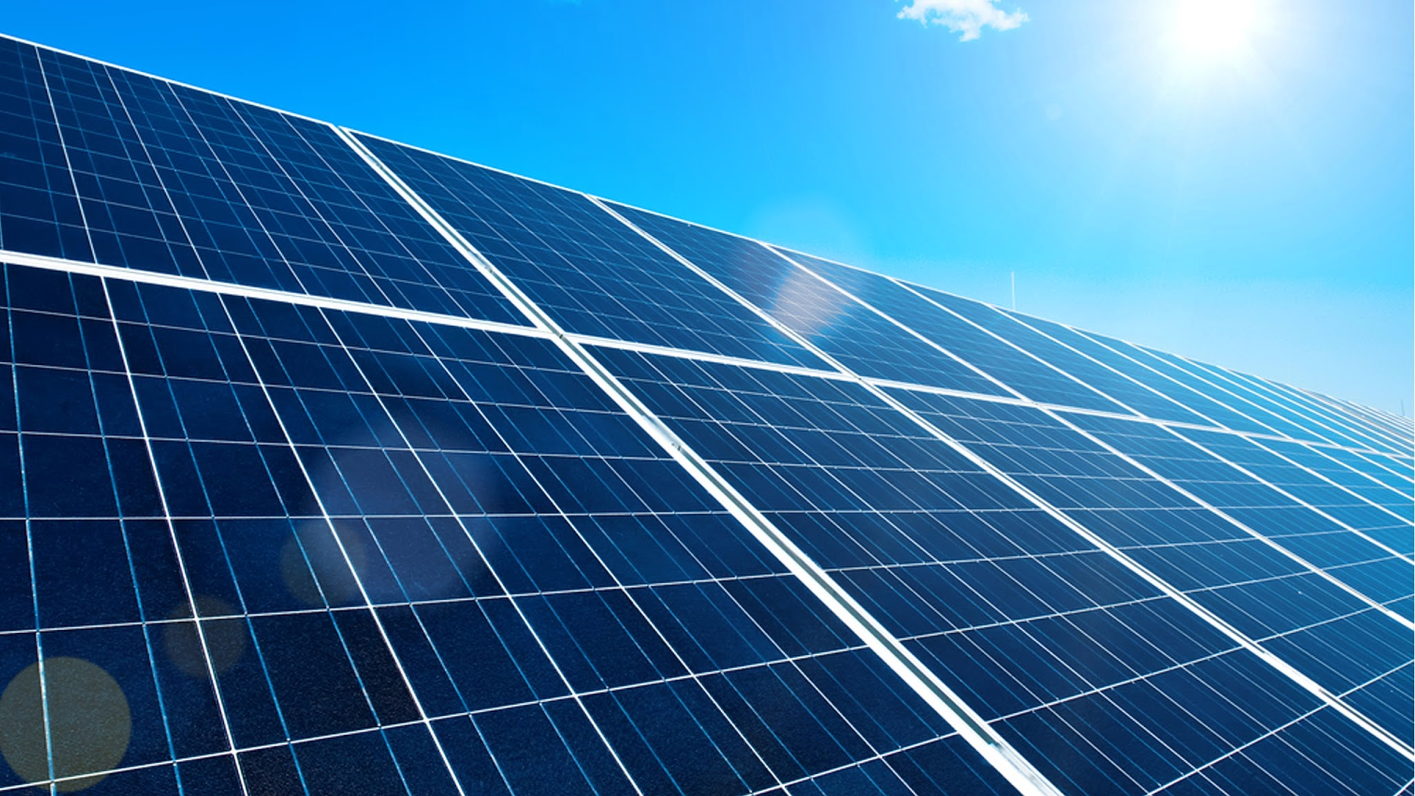 Solar Panels Wallpaper