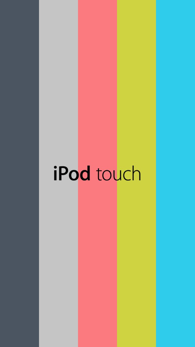 New iPod touch 5th generation 2012 Wallpaper by Design1076 on 640x1136