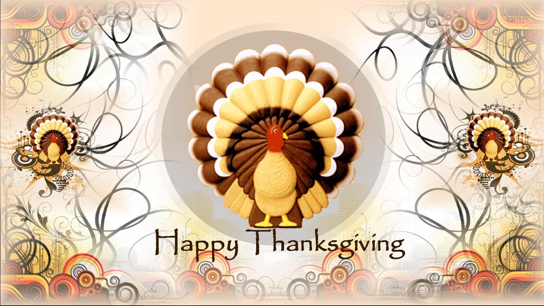 Happy thanksgiving 2012 turkey Wallpaper HD 1440x810