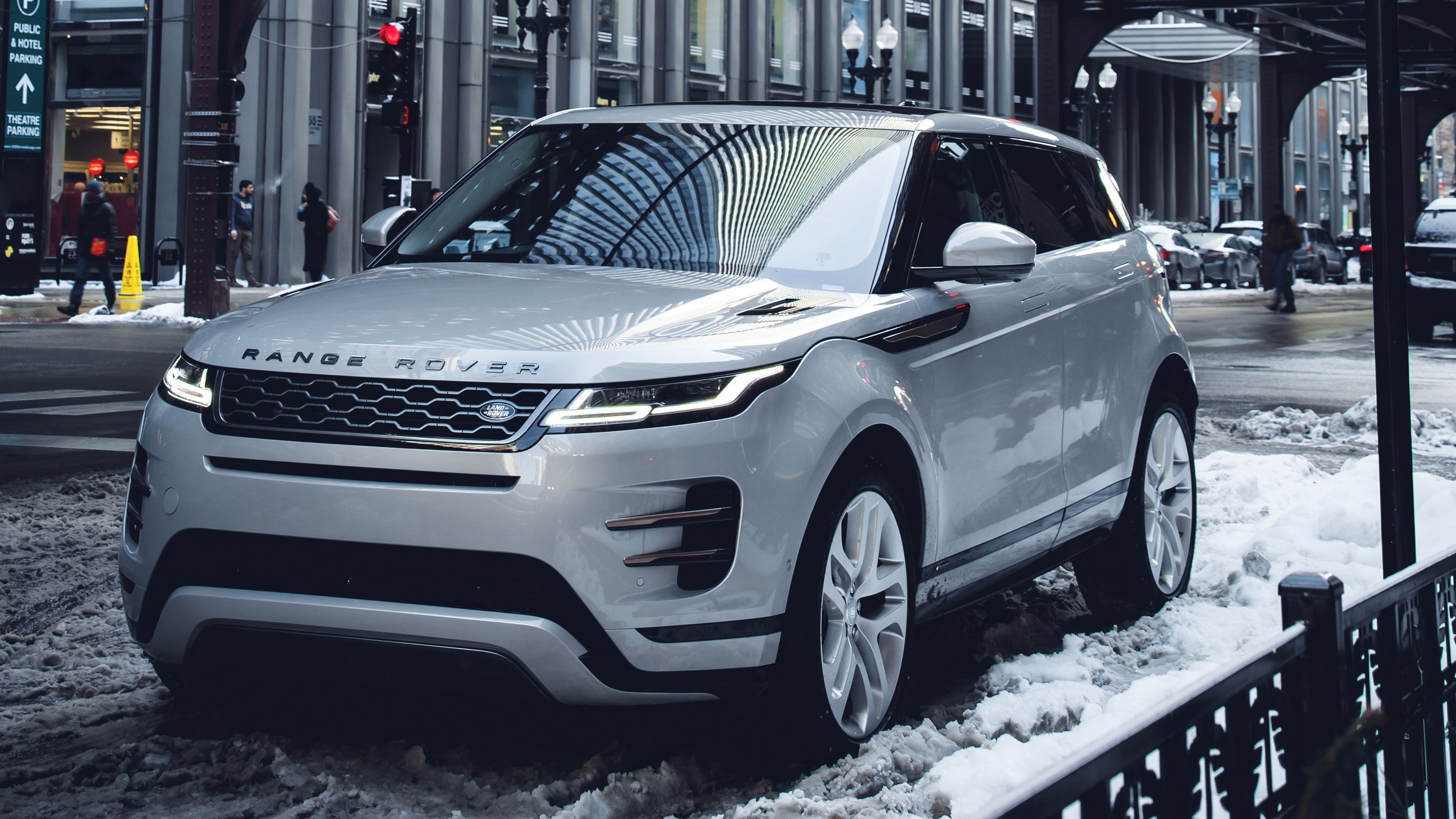 Range Rover Evoque P300 S R Dynamic 2019 4K Wallpaper HD Car 3840x2160